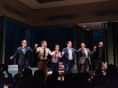 The American Son cast take their opening night bows.