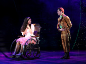 Mili Diaz as Nessarose & Michael Wartella as Boq in Wicked