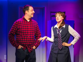 Steve Rosen and Kate Wetherhead in The Other Josh Cohen.