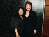 Original A Chorus Line cast members Baayork Lee and Donna McKechnie reunite.