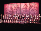 The production kept iconic costumes and choreography from the original Broadway production.