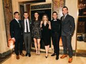 Joseph J. Simeone, Matthew Couvillon, Natalie Bourgeois, Emily Franch, Joseph Fierberg and Max Clayton line up.