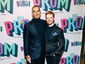 Tony winner Jerry Mirtchell with his partner Ricky Schroeder.