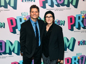 Tony-nominated SpongeBob SquarePants collaborators Tom Kitt and Tina Landau get together.