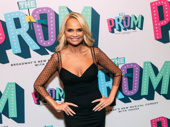 Tony winner Kristin Chenoweth is all smiles at The Prom.