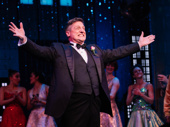 The Prom's Christopher Sieber thanks the audience at curtain call.