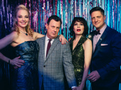 The Prom's Angie Schworer, Brooks Ashmanskas, Beth Leavel and Christopher Sieber get together.