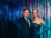 The Prom's Angie Schworer with husband Richard Bird.