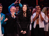Cher takes the stage at curtain call.