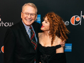 Celebrated designer Bob Mackie with close friend and three-time Tony winner Bernadette Peters.
