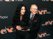 Cher with long-time friend and designer Bob Mackie on the red carpet.