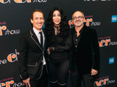 The Cher Show producers Jeffrey Seller, Cher and Flody Suarez get together.