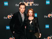 Recent Waitress star Erich Bergen with former Beautiful star Jessica Keenan Wynn.