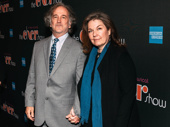 Stage alum Mark Linn-Baker with wife Christa Justus.