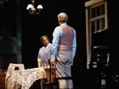 LaTanya Richardson Jackson as Calpurnia and Jeff Daniels as Atticus Finch in To Kill a Mockingbird.