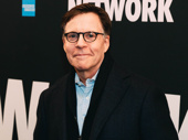 Celebrated sportscaster Bob Costas takes a break from the newsroom to attend opening night.