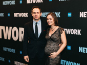 Network producer Patrick Myles with his wife.