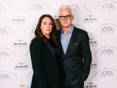 Actress Talia Balsam arrives with husband, Mad Men star John Slattery.