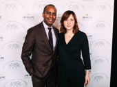 Hamilton star Daniel Breaker attends with his wife, director Kate Whoriskey.