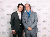 Tony-winning director Tommy Kail poses with Broadway vet Mark Linn-Baker.