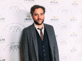 Broadway alum Josh Radnor arrives.