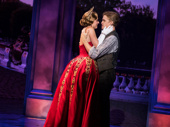 Christy Altomare as Anya and Cody Simpson as Dmitry in Anastasia.