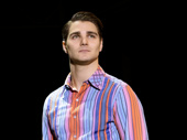 Austin Colby as Bob Gaudio in Jersey Boys.