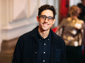 Tony-winning choreographer Justin Peck flashes a smile for the camera.