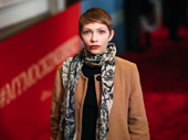 Broadway alum Tavi Gevinson takes a photo.