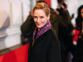 Broadway.com Audience Choice Award and Oscar winner Uma Thurman attends opening night of To Kill a Mockingbird.