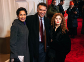 Allyson Tucker, Brian Stokes Mitchell and Bernadette Peters get together.