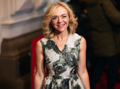 Tony winner Rachel Bay Jones snaps a pic.
