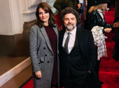 Mean Girls scribe Tina Fey and composer Jeff Richmond spend date night at the opening of To Kill a Mockingbird.
