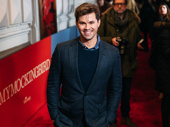 Stage and screen star Andrew Rannells looks sharp.