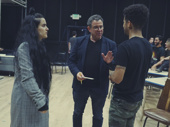 Choreographer Sonya Tayeh, director Michael Grief and Jordan Fisher chat behind the scenes.