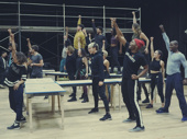 Viva la vie boheme! The Rent Live! cast assembles.