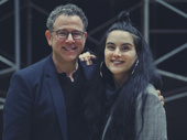 Director Michael Greif and choreographer Sonya Tayeh snap a sweet pic.