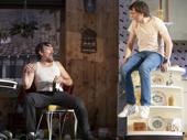 Ethan Hawke as Lee and Paul Dano as Austin in True West.