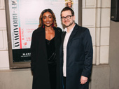 Tony winner Patina Miller spends date night with her husband, David Mars, at opening night of Choir Boy.