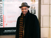 Tony winner Ruben Santiago-Hudson, who directed Jitney at the Friedman Theatre, steps out.