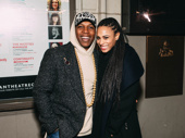 Theater couple Leslie Odom, Jr. and Nicolette Robinson get together.