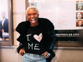 Tony winner Cynthia Erivo is all smiles for opening night of Choir Boy.
