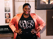 Stage-and-screen fave Danielle Brooks steps out to support her pal Jeremy Pope on opening night of Choir Boy.