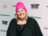 Comedian Bridget Everett supports the new work.