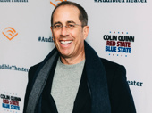 Comedian Jerry Seinfeld makes an appearance.