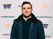 Comedian Chris Distefano arrives.