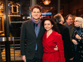Tony winner Gabriel Ebert with director Danya Taymor.