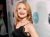 Tony nominee Patricia Clarkson strikes a pose.