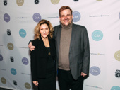 Nurse Jackie duo Edie Falco and Stephen Wallem get together.