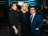 30 Rock reunion! Tina Fey, Jane Krakowski and Jeff Richmond get together at the Artios Awards.